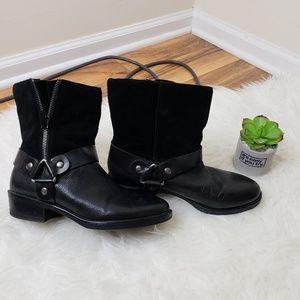 Franco Sarto moto boots